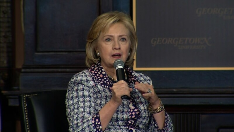 Hillary Clinton aseguró que su cambio de postura respecto a los matrimonios entre homosexuales fue un proceso de ?evolución?