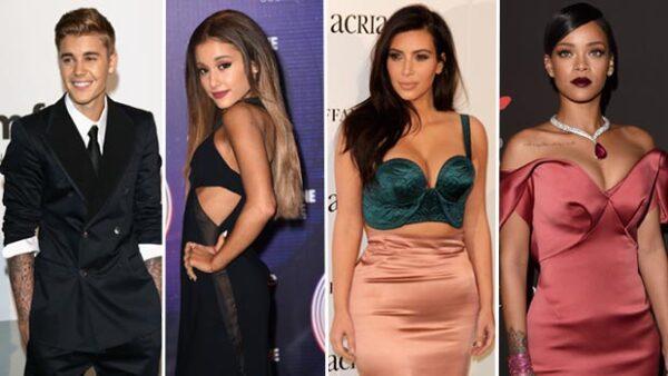 Justin Bieber, Ariana Grande, Kim Kardahsian y Rihanna fueron los más afectados con la acción de la aplicación de eliminar las cuentas spam.