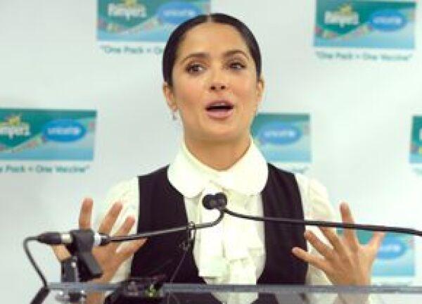 La actriz afirmó que se siente orgullosa de participar de una campaña a la que le llevó el destino.
