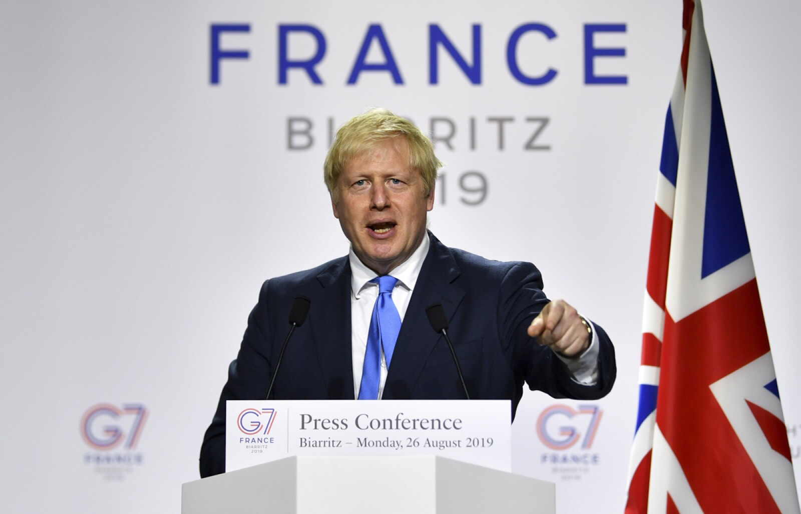 G7 Boris Johnson