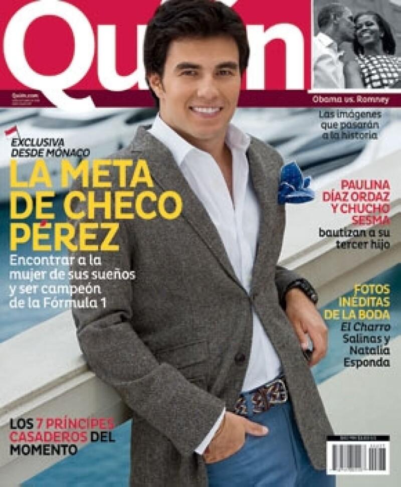En esta edición Checo Pérez es la portada y además de contar su historia en el viejo continente, la revista trae más sorpresas.