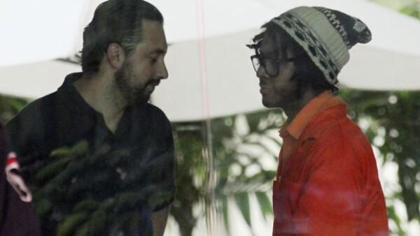 El cantante recibió en el Centro de Readaptación Social de Chetumal a Fernando de la Garza, su representante artístico.