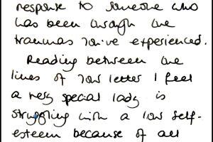 Revelan carta de Lady Di