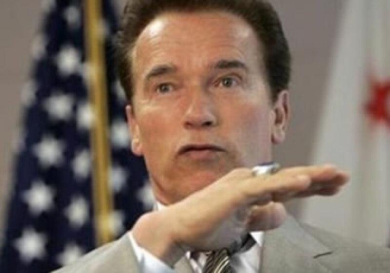 Arnold Schwarzenegger, gobernador de California. (Foto: Reuters)
