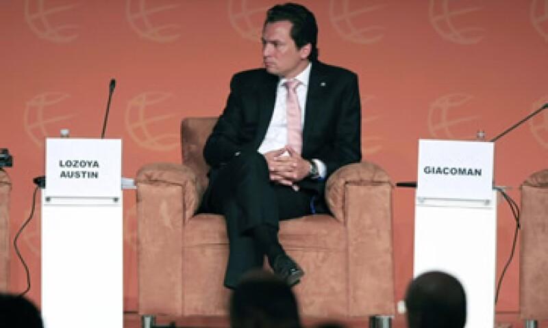 Lozoya Austin señaló que la empresa requiere de inversiones superiores a los 60,000 mdd.  (Foto: Notimex)