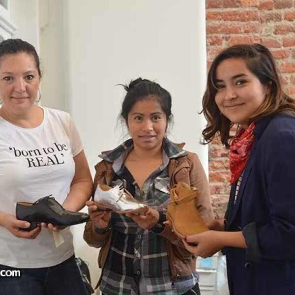Claudia Dueñas,Giovanna Leyva y Fernanda Ortega.