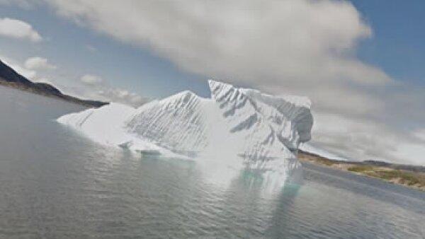 Los paisajes de Groenlandia son considerados un patrimonio mundial por la UNESCO. (Foto: tomada de Google Maps )