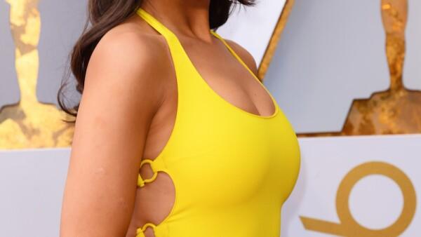 ¿Cuánto costo el look que Eiza González usó en los Oscar?
