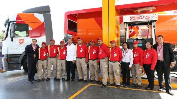 FEMSA lanzó este miércoles Oxxo Gas, una nueva marca distribuidora de gasolina; Pemex continúa abasteciéndole de combustible.