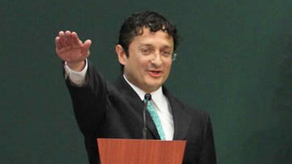 Andrade asumió el martes el mando en la Secretaría de la Función Pública (SFP). (Foto: Notimex )