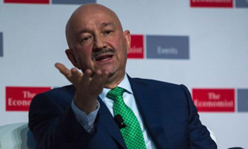 Salinas participó en el marco de la Cumbre México que organizó el semanario 'The Economist' (Foto: Cuartoscuro)