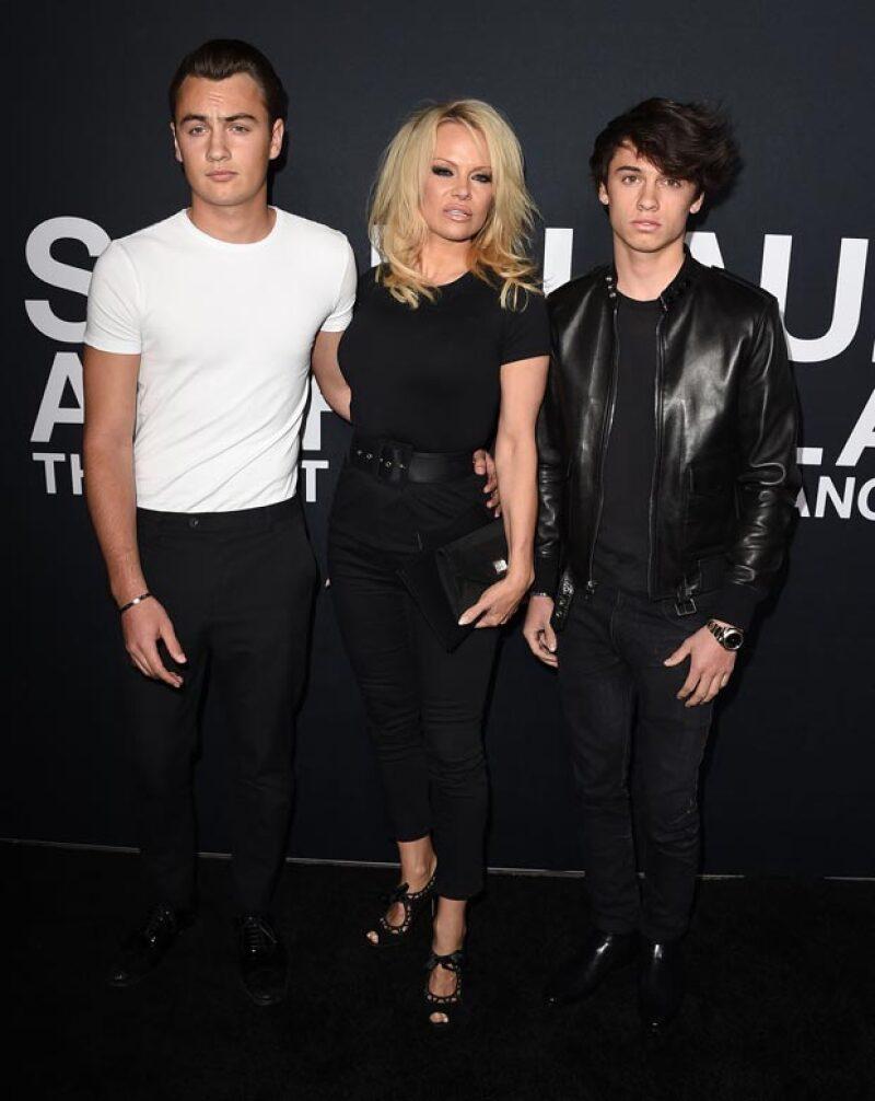 Pamela, Dylan y Brandon más hot, ¡imposible!