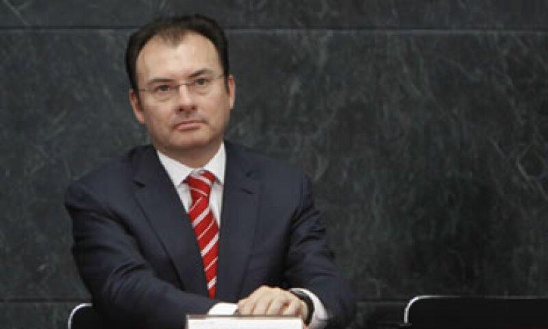 La iniciativa presentada este jueves por Luis Videgaray, secretario de Hacienda y otros funcionarios, busca también aumentar la inversión en capital humano. (Foto: Cuartoscuro)