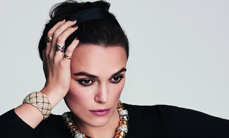 """La actríz británica ha sido elegida como la imagen de la firma en su nueva campaña de alta joyería """"Coco Crush""""."""