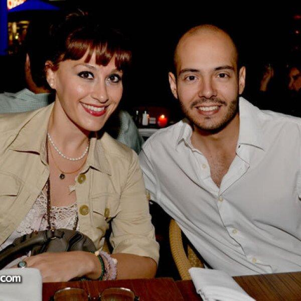 Vero Garck y Carlos Pompa