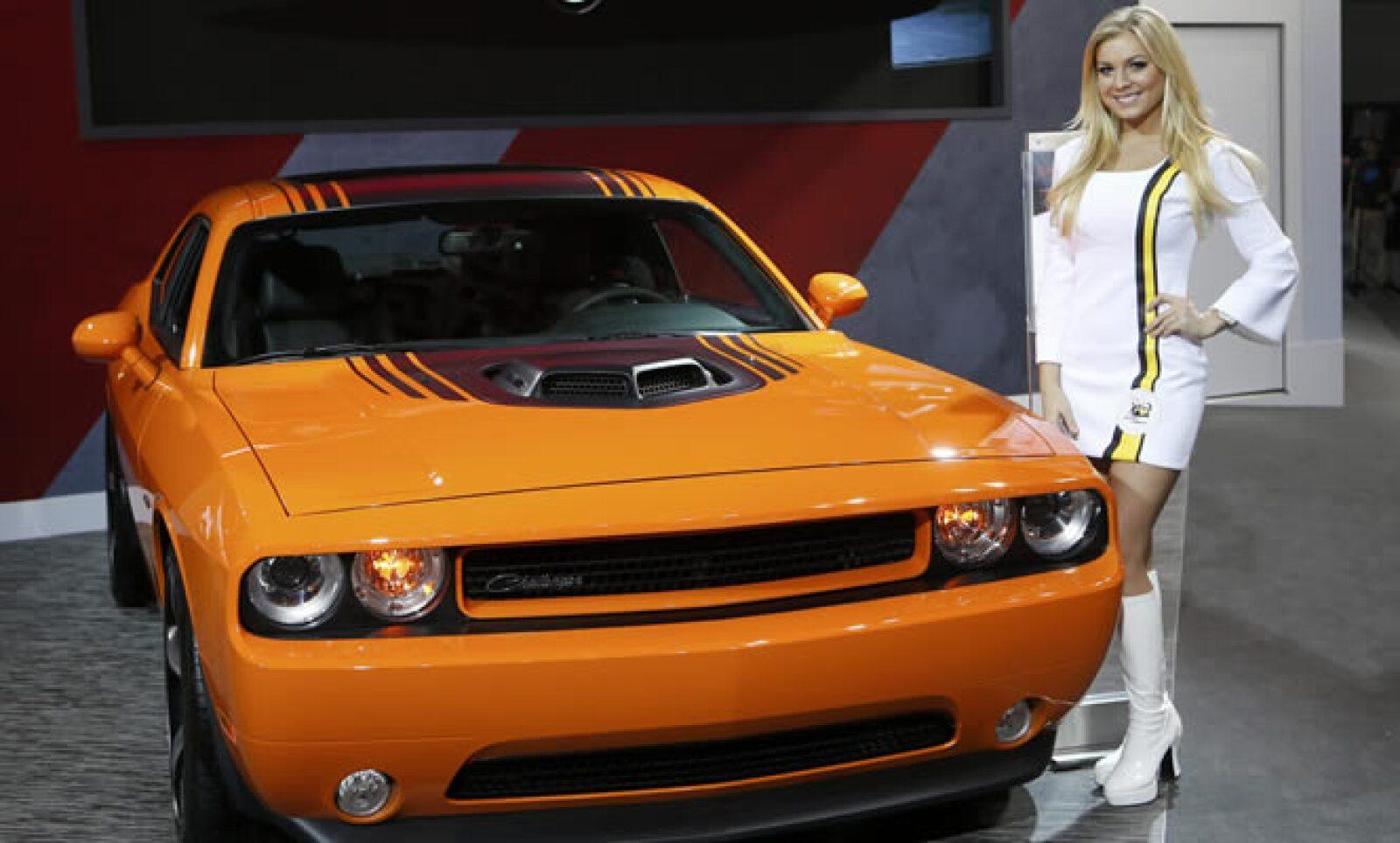 El auto Dodge fue presentado en el Salón Internacional del Automóvil de Detroit este martes.