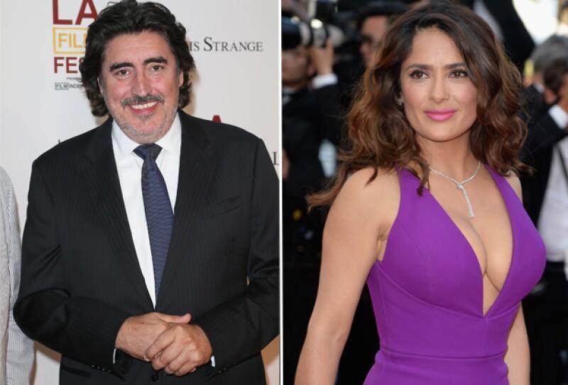 El actor Alfred Molina cree que Salma podría haber sido una de las personas más poderosas de Hollywood de haber nacido hombre
