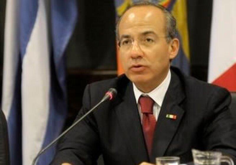 Felipe Calderón dio a conocer los pormenores de su labor al frente del Gobierno mexicano. (Foto: Archivo AP)