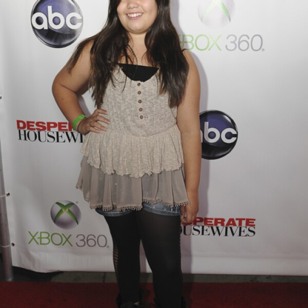 Madison de la Garza saltó a la fama como la hija de Eva Longoria en Desperate Housewives. Aunque no es tan famosa (ni guapa) como su hermana Demi Lovato.