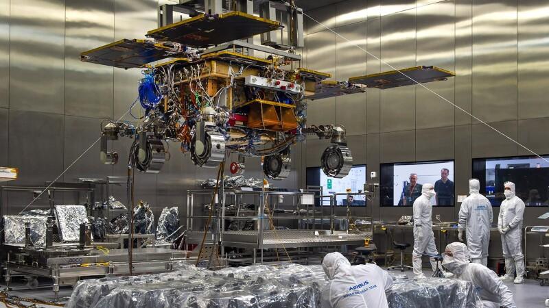 Se prevé que el ExoMars llegará a la superficie marciana hacia 2021.
