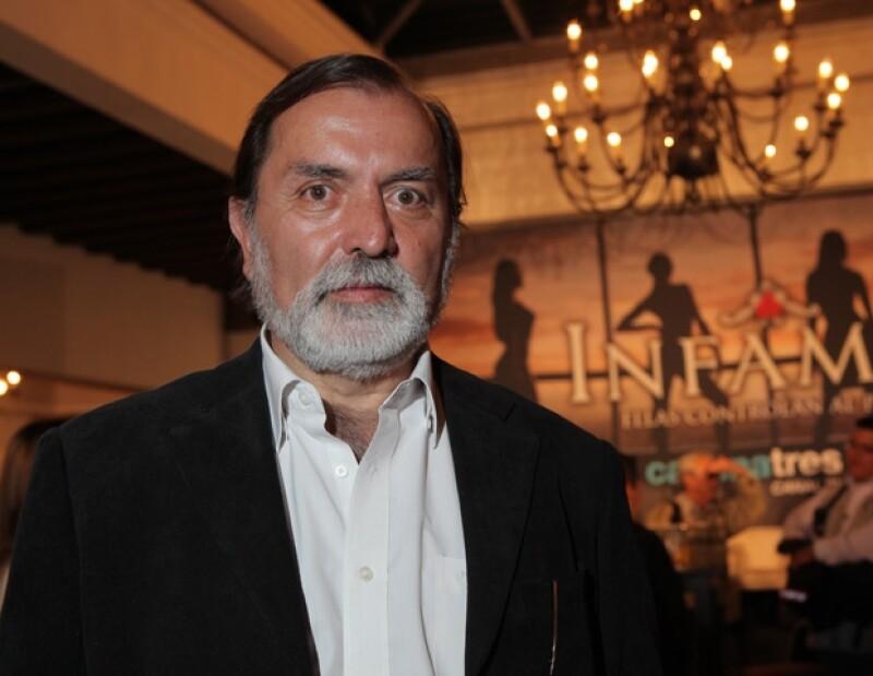 Epigmenio Ibarra estrenará la serie Infames.