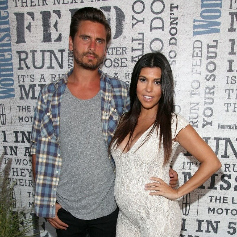 Kourtney y Scott aún no se han casado, pero se dice que Kris Jenner ya planea su boda.