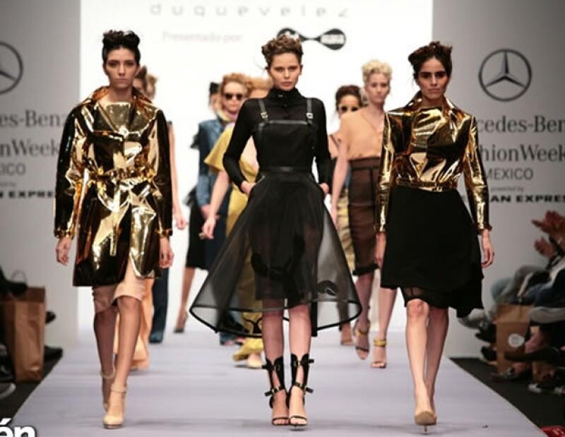 La plataforma de moda mexicana cerró con broche de oro con las presentaciones de CENTRO, Jorge Duque, Julia y Renata y Malafacha en las que predominaron los diseños femeninos.