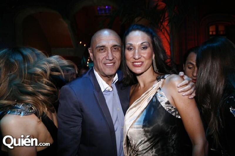 Jorge Emilio González y su novia unieron sus vidas en una ceremonia a la que acudieron importantes personalidades como el presidente Enrique Peña Nieto y Angélica Rivera.