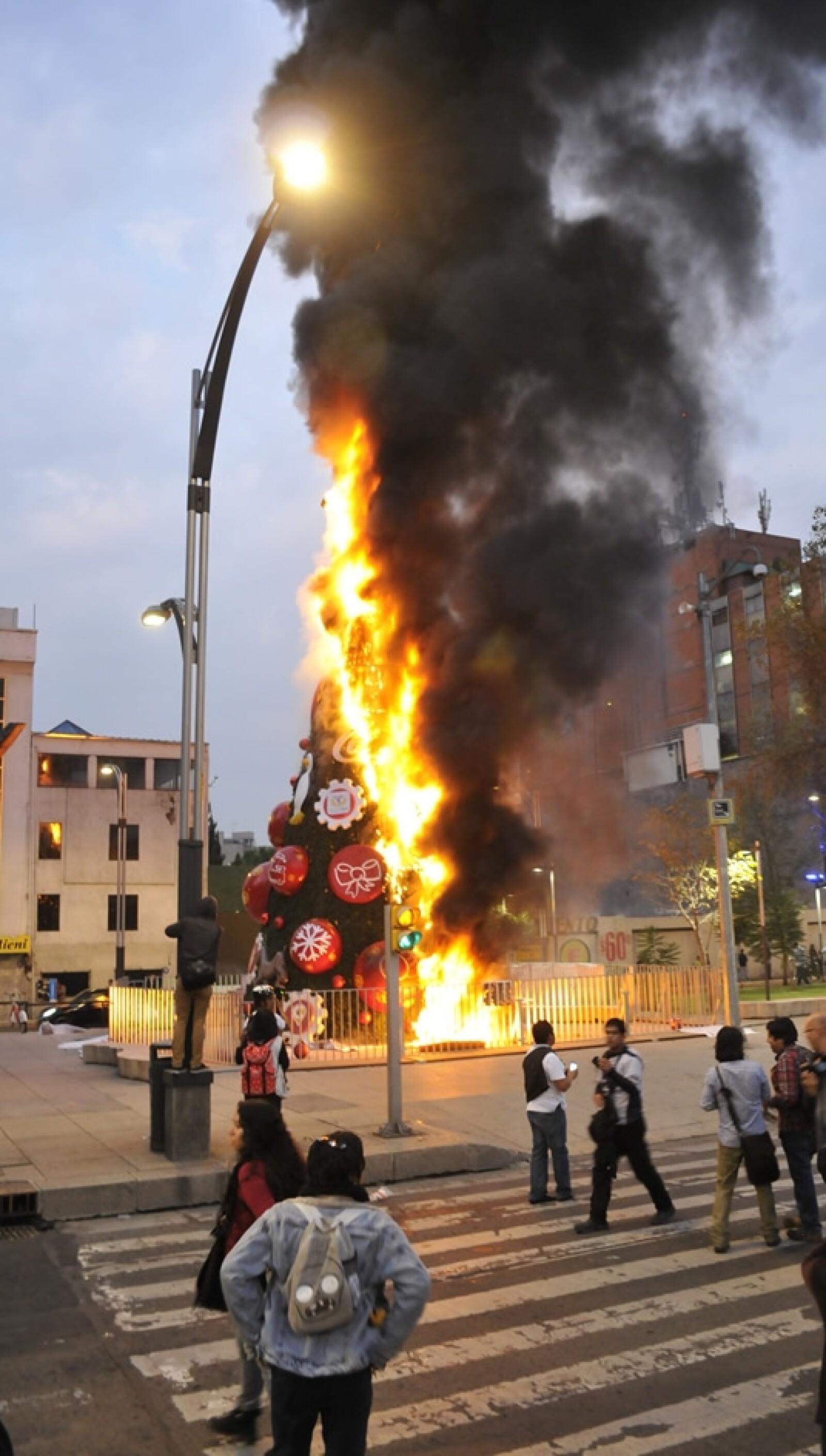 arbol de Navidad Reforma
