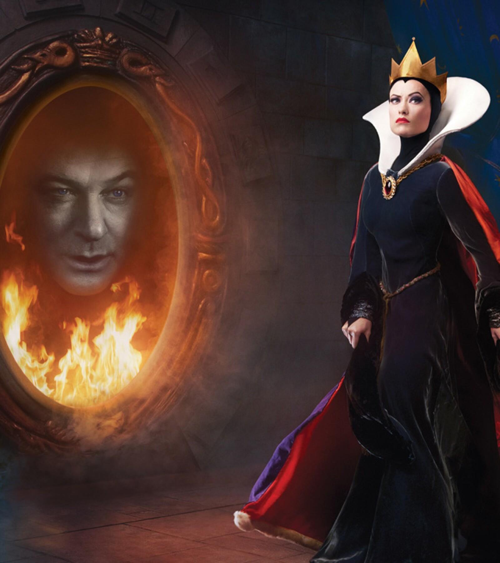 Olivia Wild como la malvada madrastra de Snow White