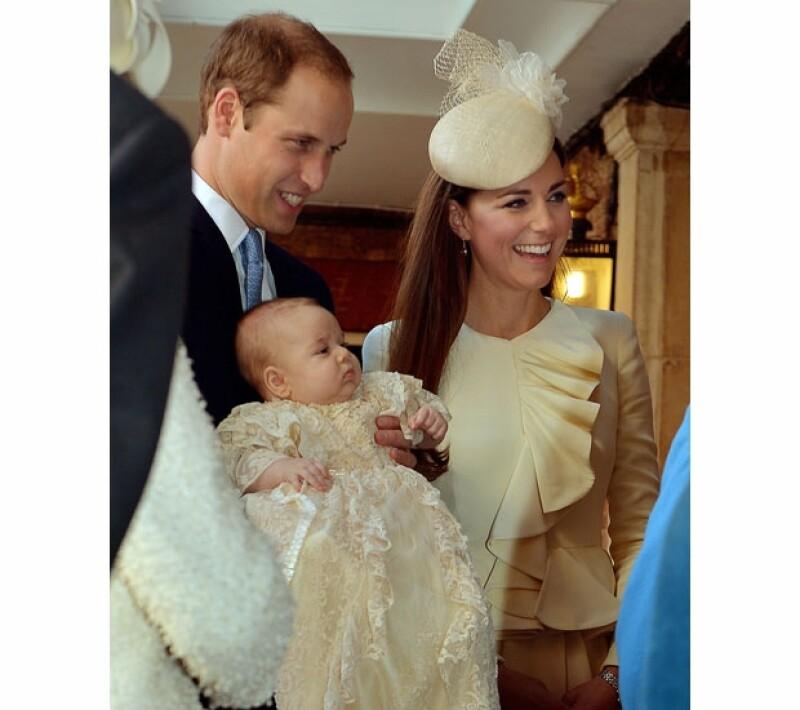 El pequeño ha sido fotografiadas varias veces, no obstante este sería su segundo acto oficial como miembro de la realeza.