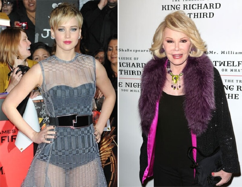 "Jennifer está actualmente promocionando ""Catching Fire"", mientras que Joan continúa en Fashion Police."