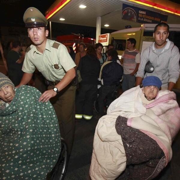 Chile evacuados ok