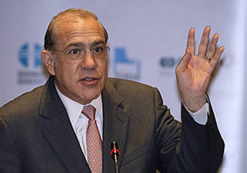 José Ángel Gurría prevé la pérdida de 30 millones de empleos entre 2007 y 2010. (Foto: AP)