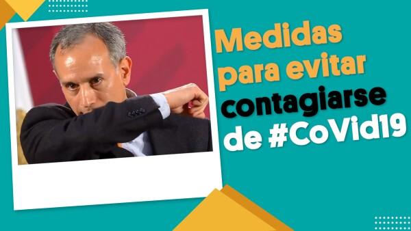 Nada de abrazos ni besos… para evitar el coronavirus | #EnSegundos ⏩