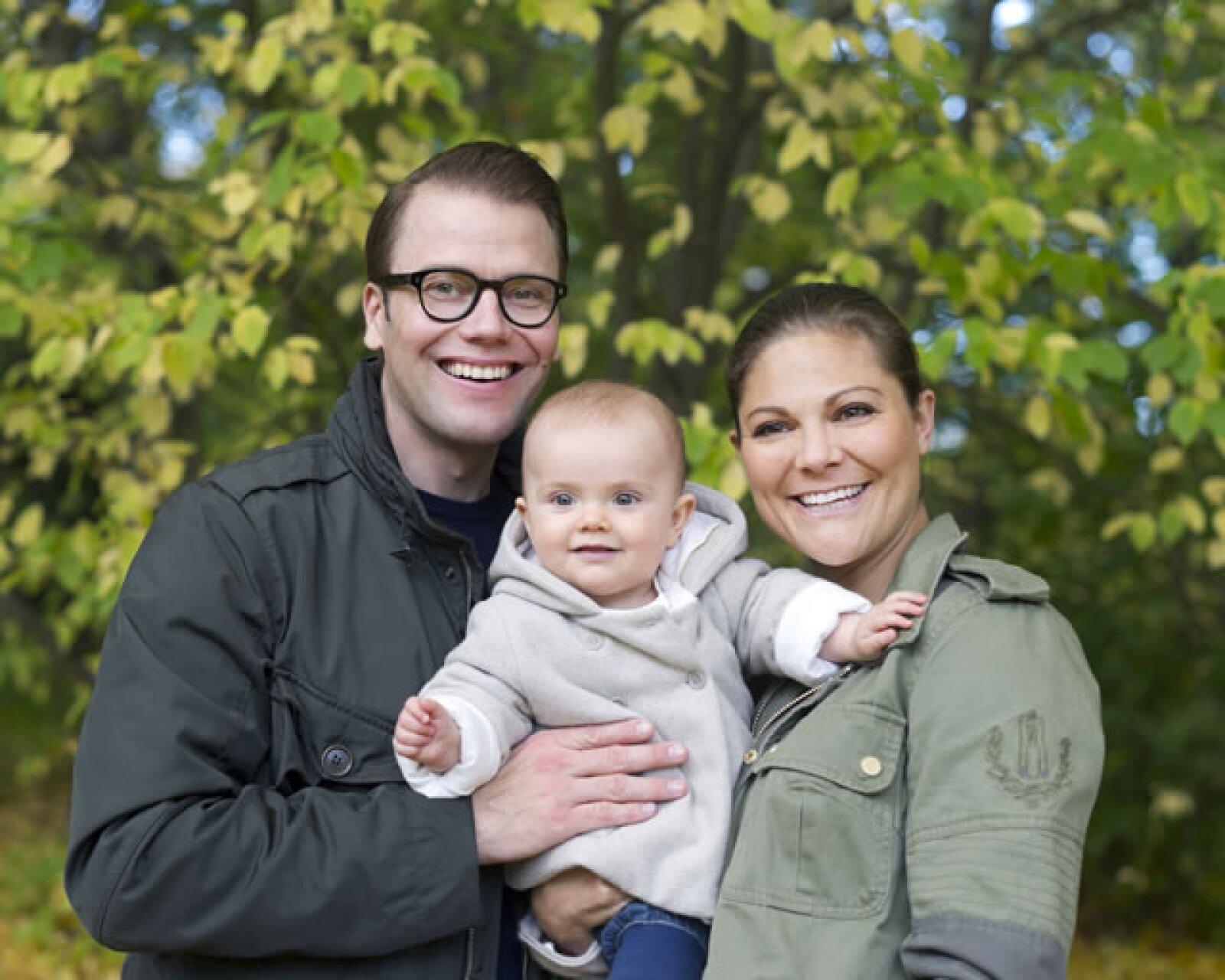 Estelle fue la primera bebé real en Suecia después de 30 años.