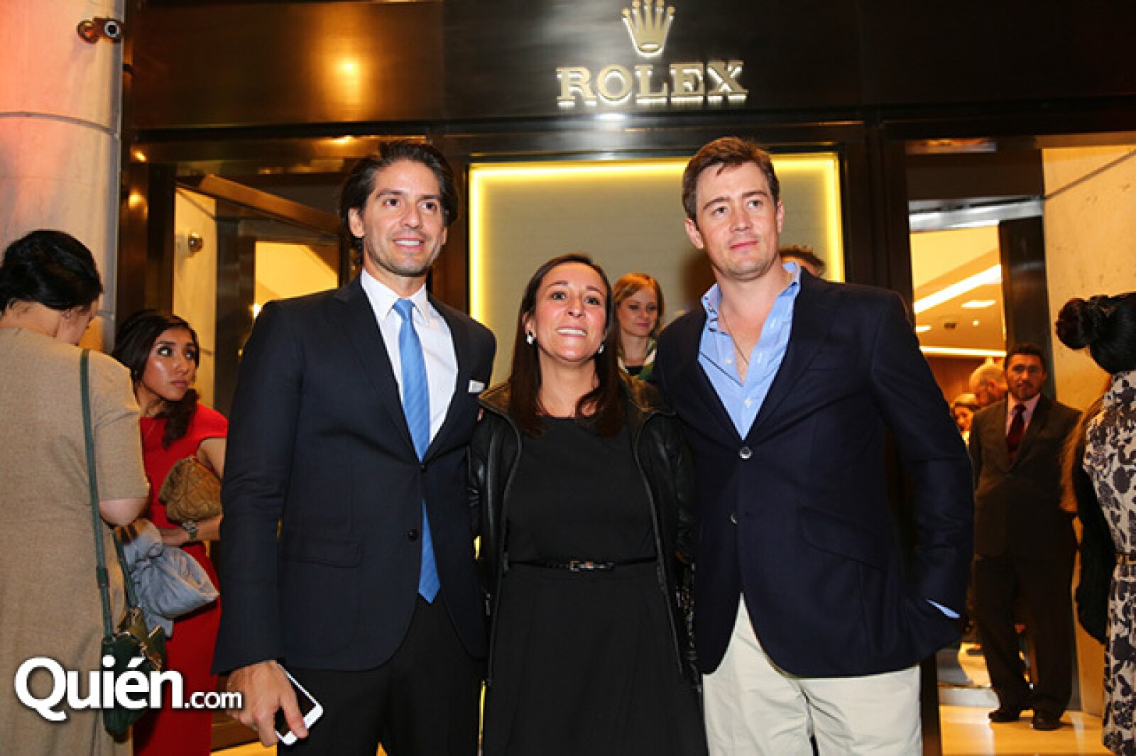 Abelardo Marcondes,Ana Luisa Jiménez y Fernando Arrangoiz