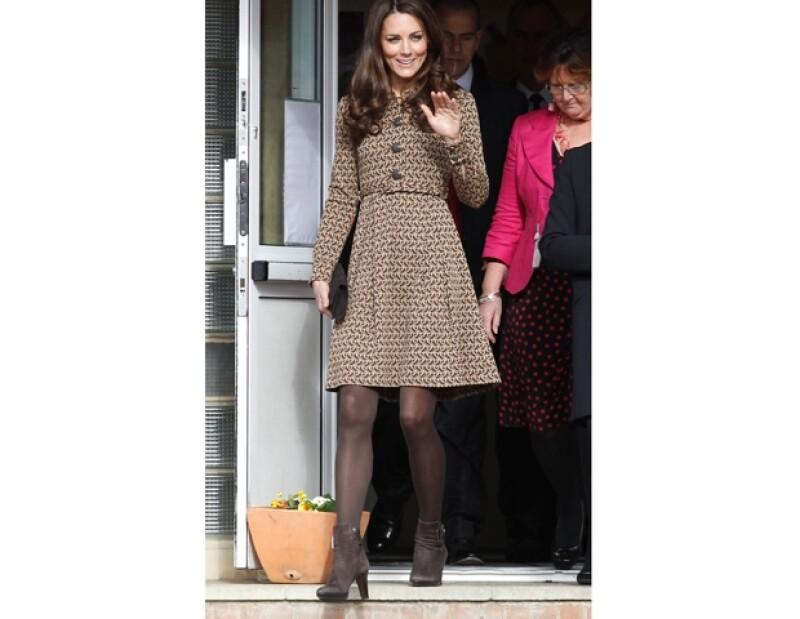 kate Middleton fue elegida por el público como la más elegante.