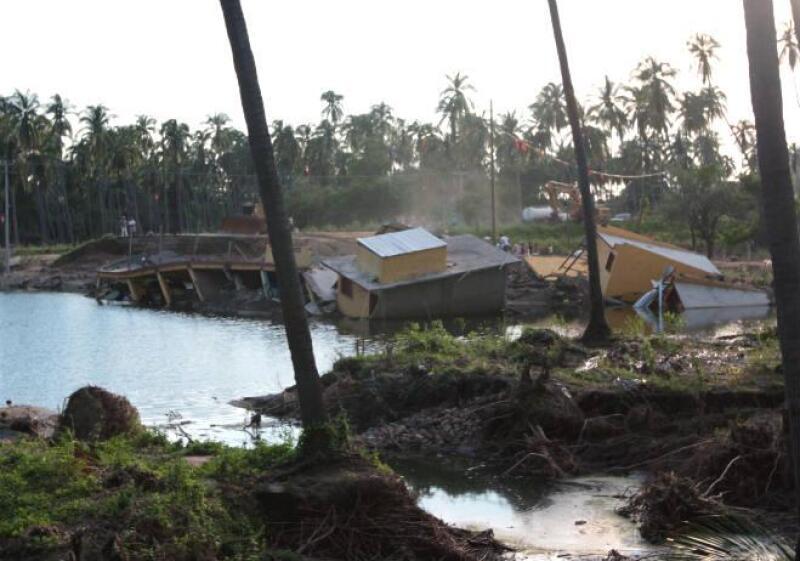 Vivienda hurac�n Ingrid Manuel