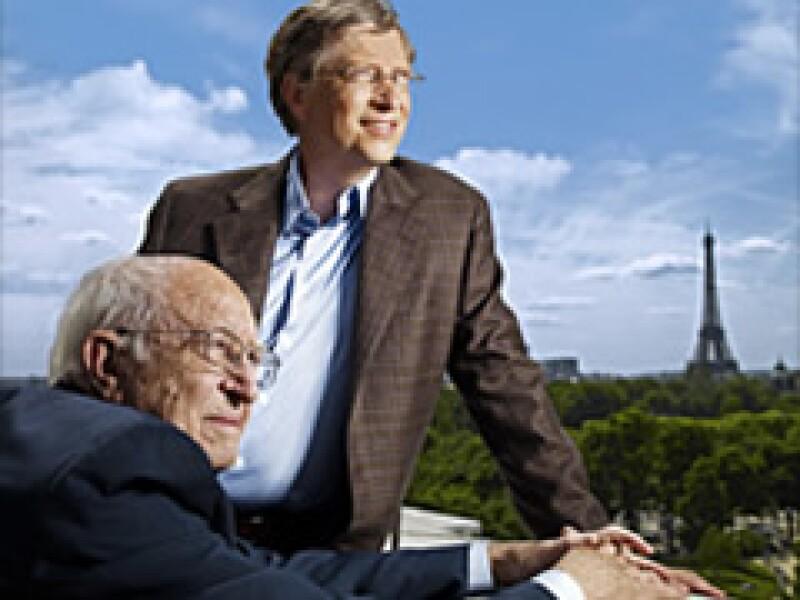 Bill Gates y su padre comparten su experiencia sobre la dirección de la Fundación Bill y Melinda Gates. (Foto: CNNMoney)