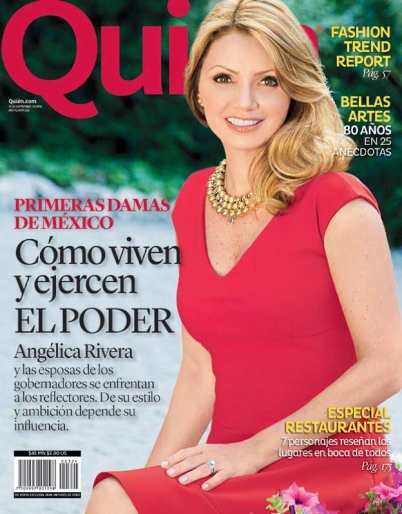 Angélica Rivera es la primera dama de México.