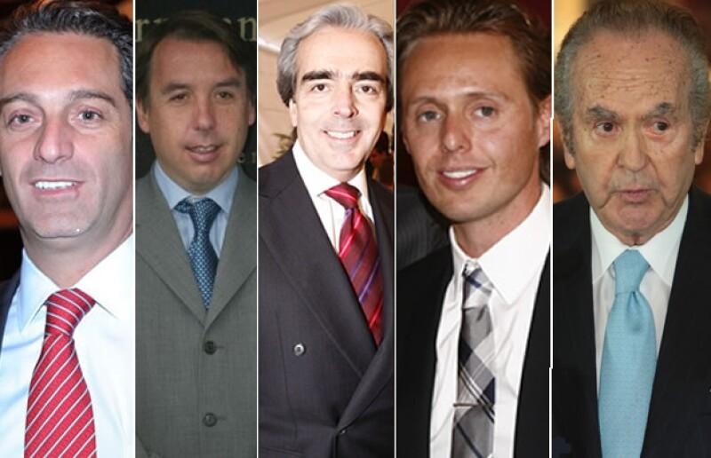 Ellos son los dueños de los principales emporios en México, pero sus verdaderos tesoros son sus hijos.
