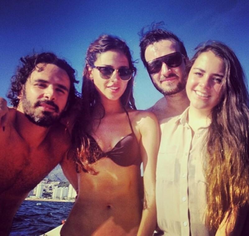 Eiza y Pepe pusieron fin a su noviazgo de un año y medio en 2013.