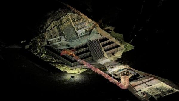 teotihuacan, templo de la serpiente, hallazgo, descubren, piezas, tumba, gobernantes, inah, expertos, arqueologos, robot, tlaloc ii,