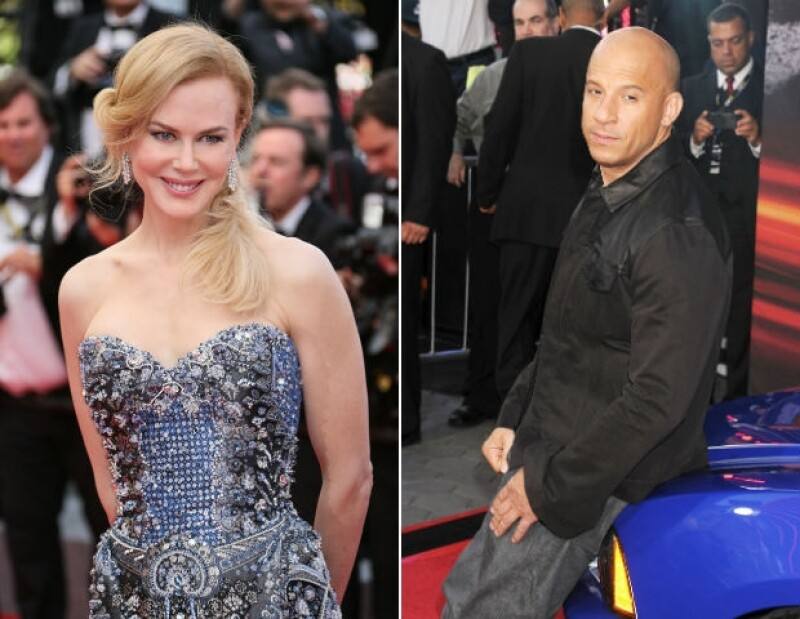 Nicole Kidman y Vin Diesel.