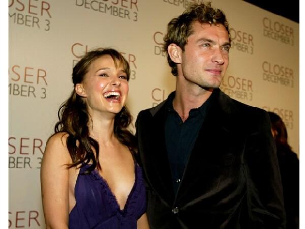 Jude Law y Natalie estuvieron juntos en `Closer´.