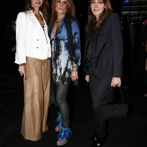 Marlene Zepeda, Mónica Phillipson y Adelina Pons