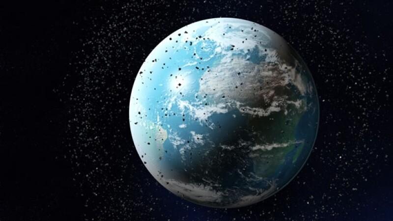 grafico de basura espacial