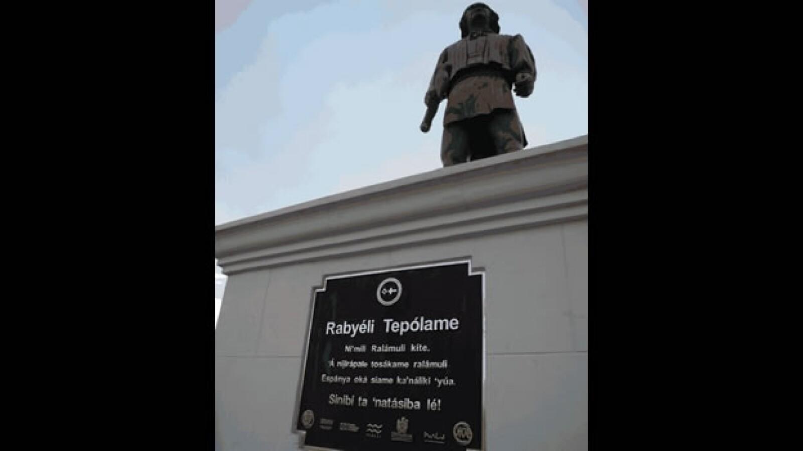 monumento a gabriel teporame