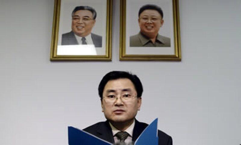 An Myong Hun, representante de Corea del Norte ante la ONU, calificó la detención del buque como una violación a la soberanía de su país. (Foto: Reuters )
